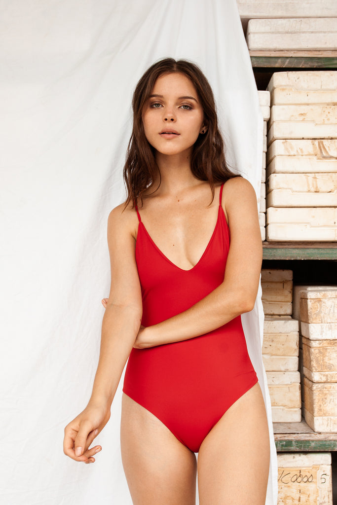 Bali Onepiece - Red