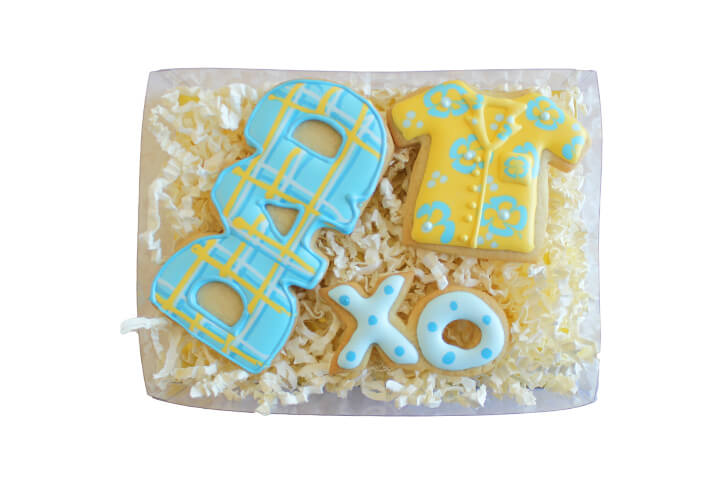Father's Day Cookie Set