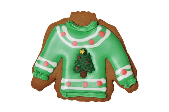 Ugly Sweater Cookie