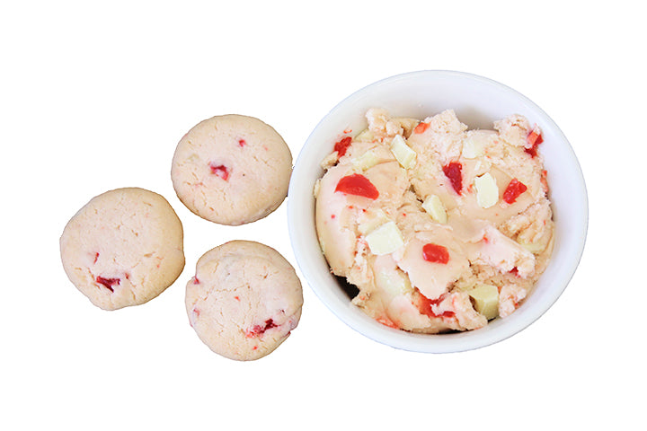 White Chocolate Cherry Cookie Dough