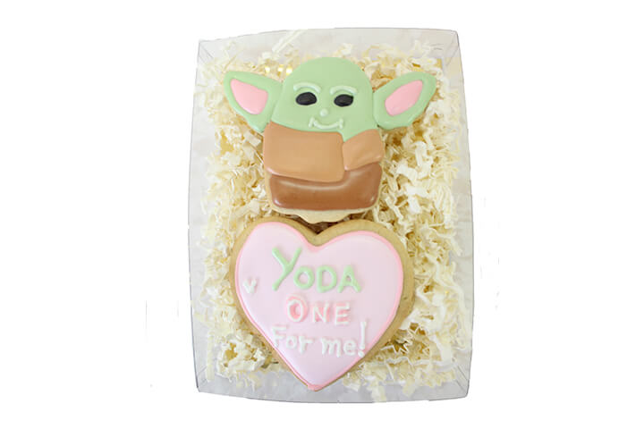 Yoda One for Me! Cookie Set