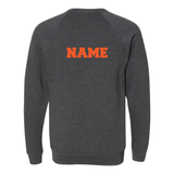 Crew Neck Sweatshirt, Dark Grey Heather