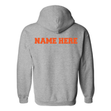 Adult & Youth - Grey Hooded Sweatshirt