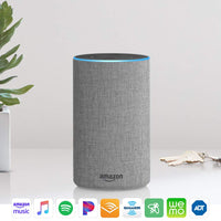 Amazon Echo (2nd Generation) - Smart speaker with Alexa