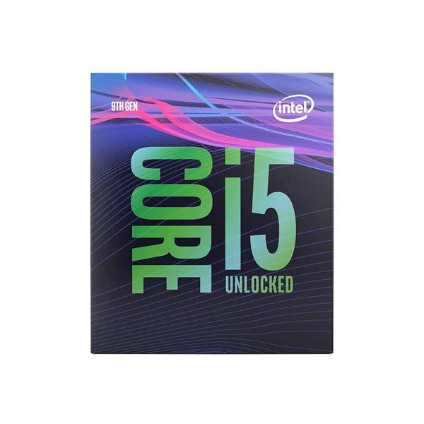 Intel Core i5-9600K Processor 6 Cores up to 4.6 GHz Turbo