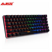 Ajazz Mechanical Keyboard 82-Key Black or Blue Switches