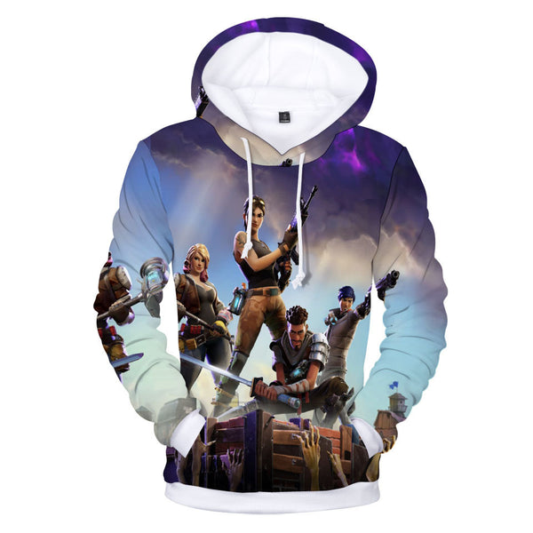 Unisex Fortnite 3d Print Pullover Hoodie Game Battle Royale