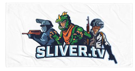 SLIVERtv Beach Towel