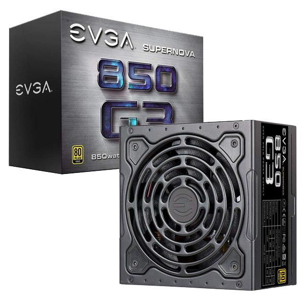 EVGA Supernova G3, 80 Plus Gold 650W - 1000W