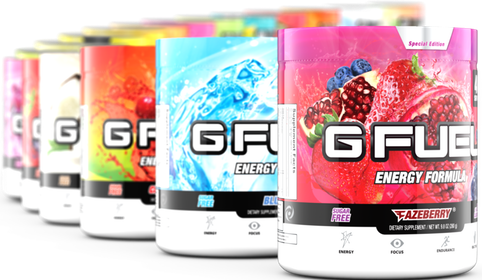 Choose-Your-Own GFuel Tub
