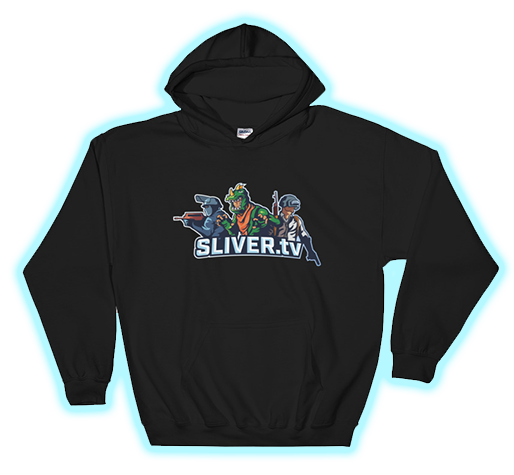 SLIVER.tv Pull-Over Hoodie