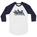 SLIVER.tv 3/4 Sleeve Shirt