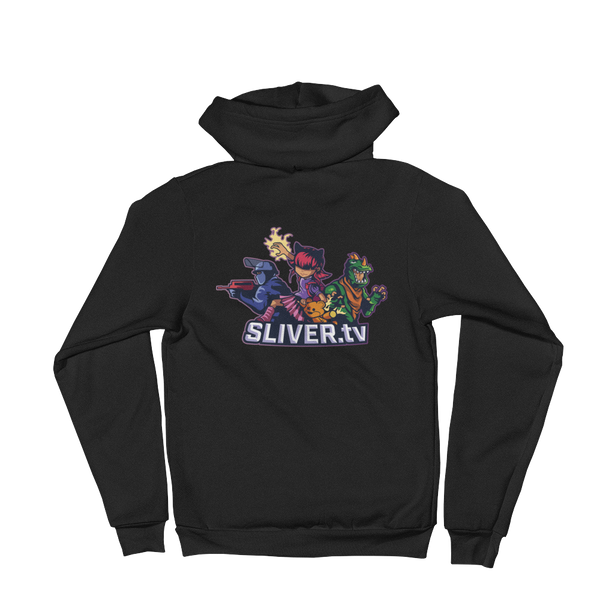 SLIVERtv Zip-Up Hoodie Season 2