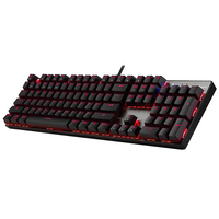 MOTOSPEED Gaming Mechanical Keyboard 104 Keys RGB LED Backlit