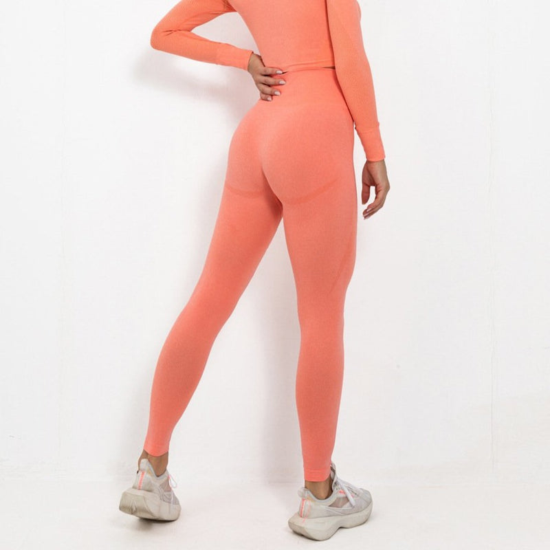 Astoria TEMPO Full Length Legging - Bright Peach