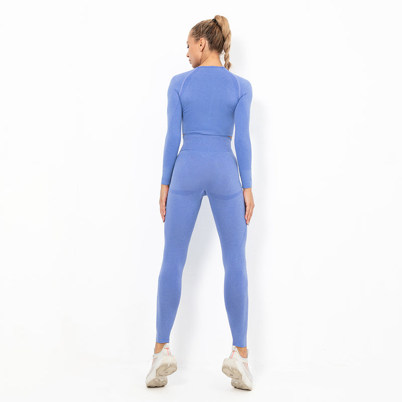 Astoria TEMPO Sleeved Crop - Olympic Blue