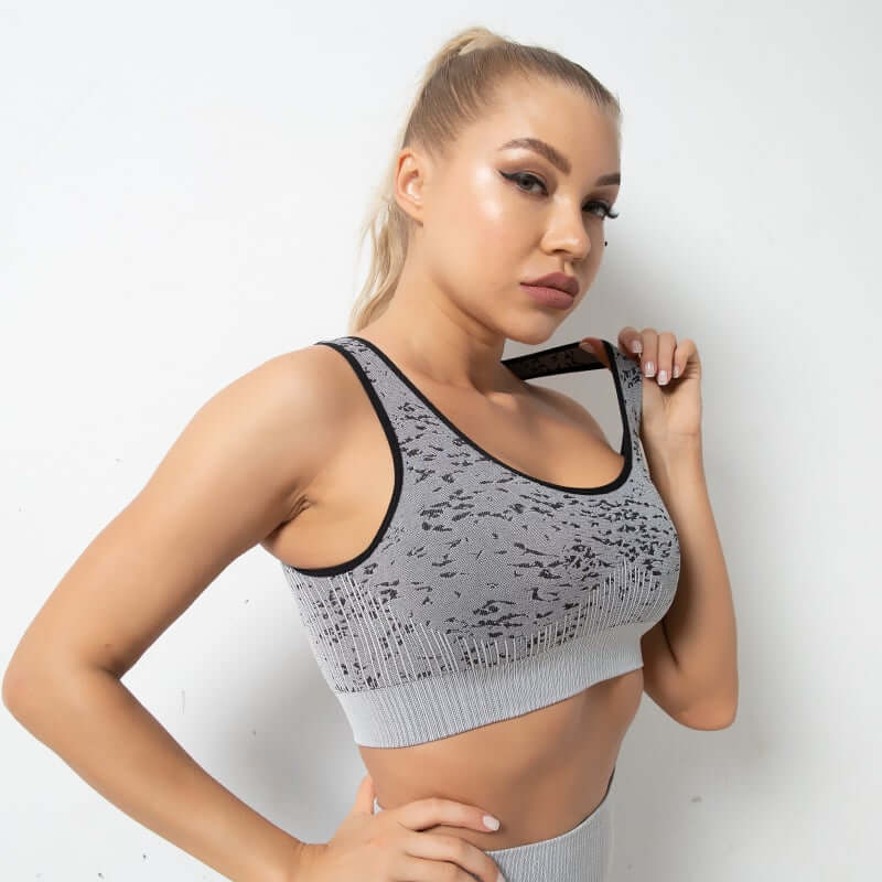Astoria FLEX Sports Bra - Grey