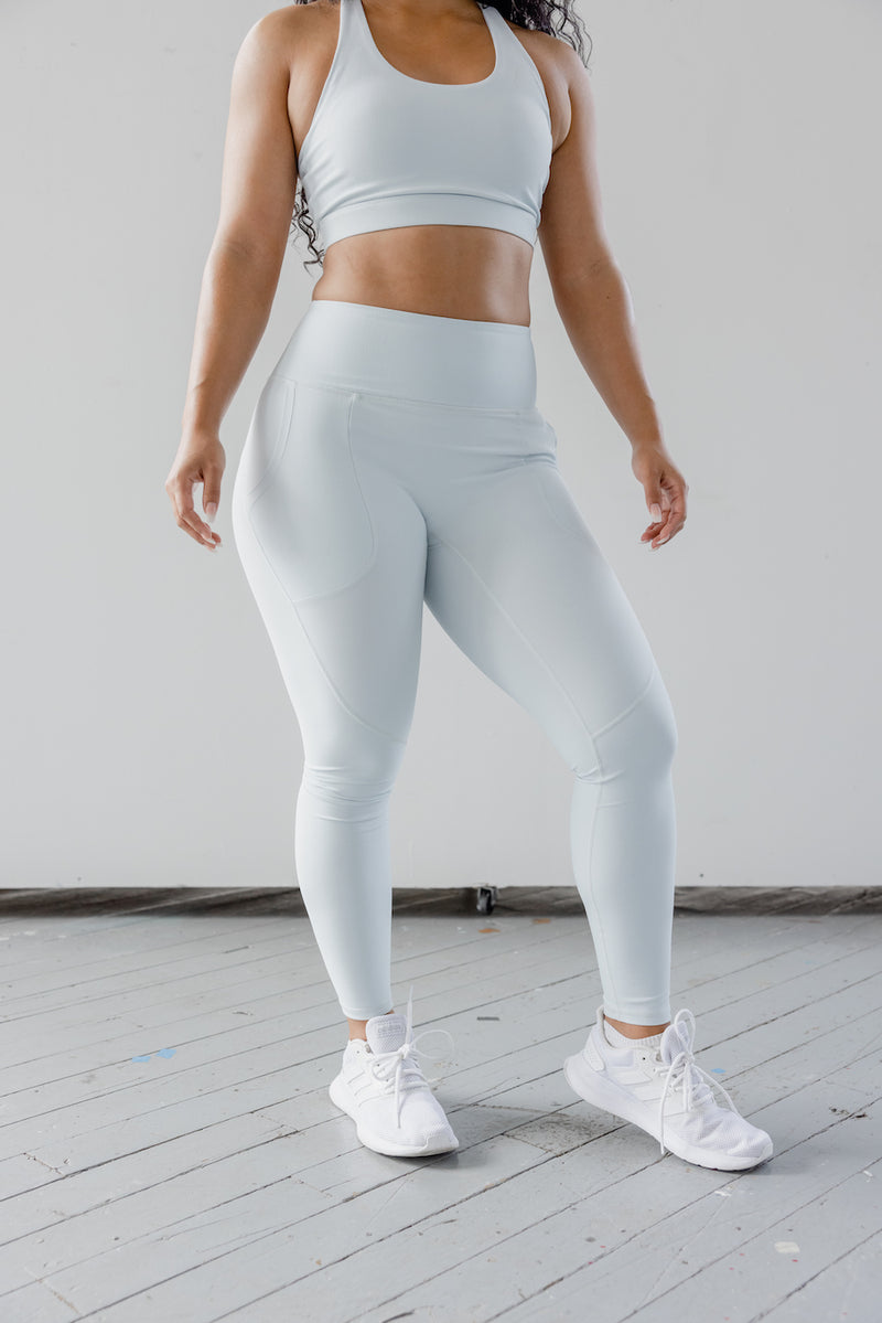 Astoria LUXE ESSENTIAL Full Length Legging - Frost White