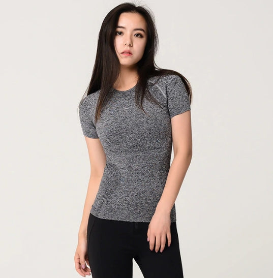 Astoria Seamless Full Length Tee - Grey