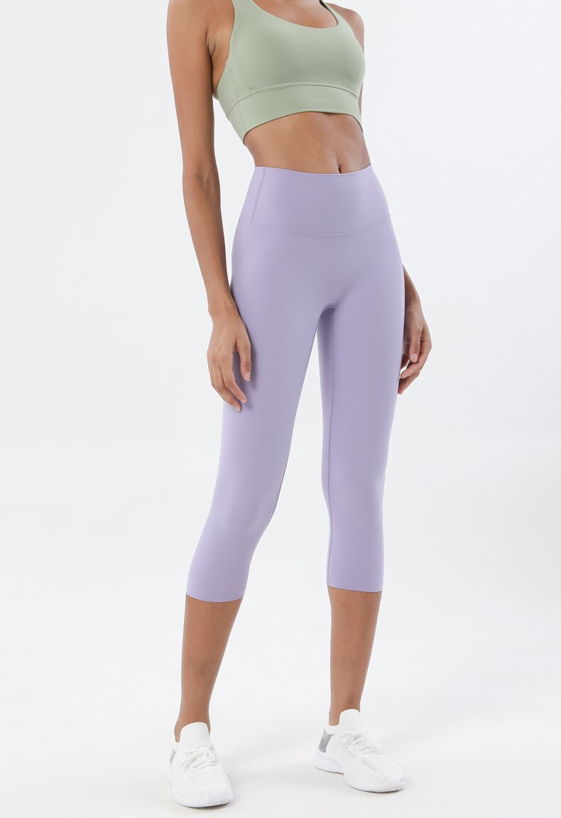 Astoria LUXE Max Support 3/4 Legging - Lavender