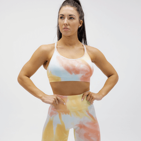 Astoria DREAM Sports Crop - Sorbet
