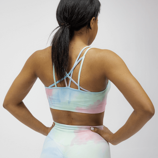 Astoria DREAM Sports Crop - Rainbow
