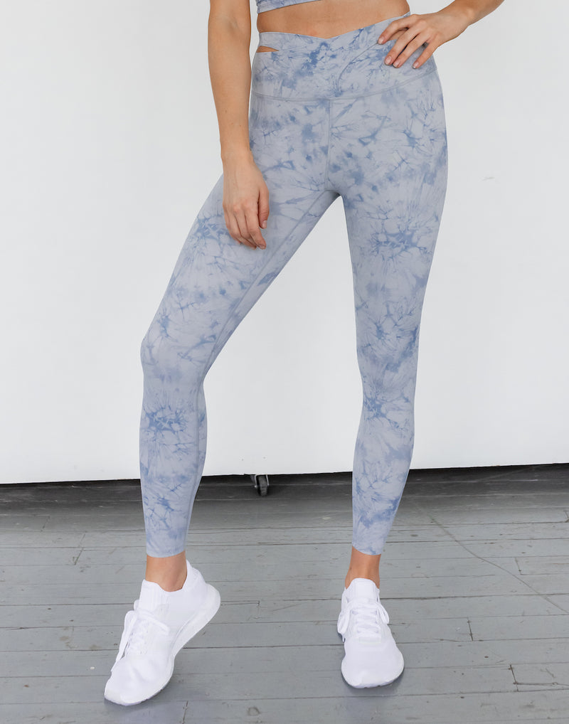 Astoria LUXE CLOUD Crossover Legging - Blue
