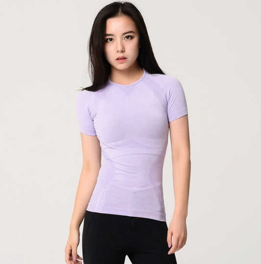Astoria Seamless Full Length Tee - Lavender