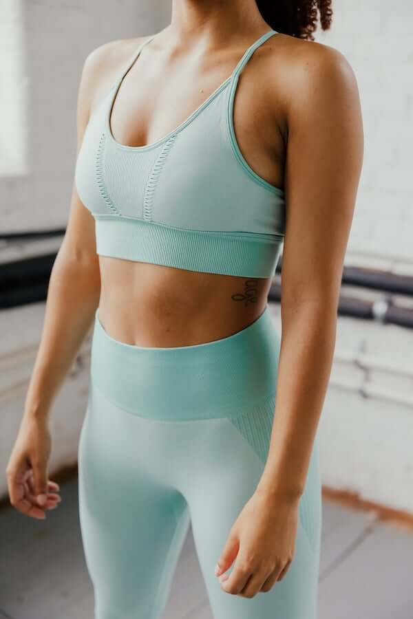 Astoria APEX Sports Bra - Powder Blue