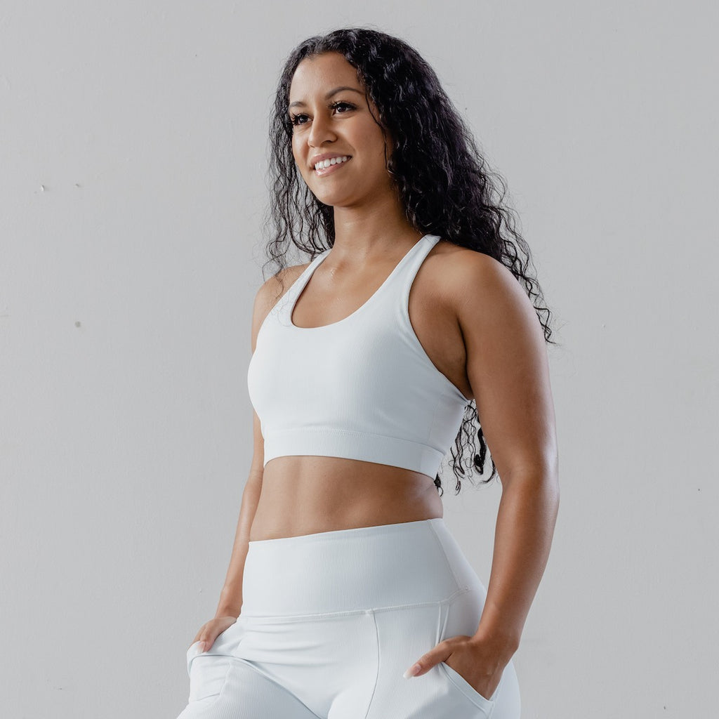 Astoria LUXE ESSENTIAL Sports Bra - Frost White