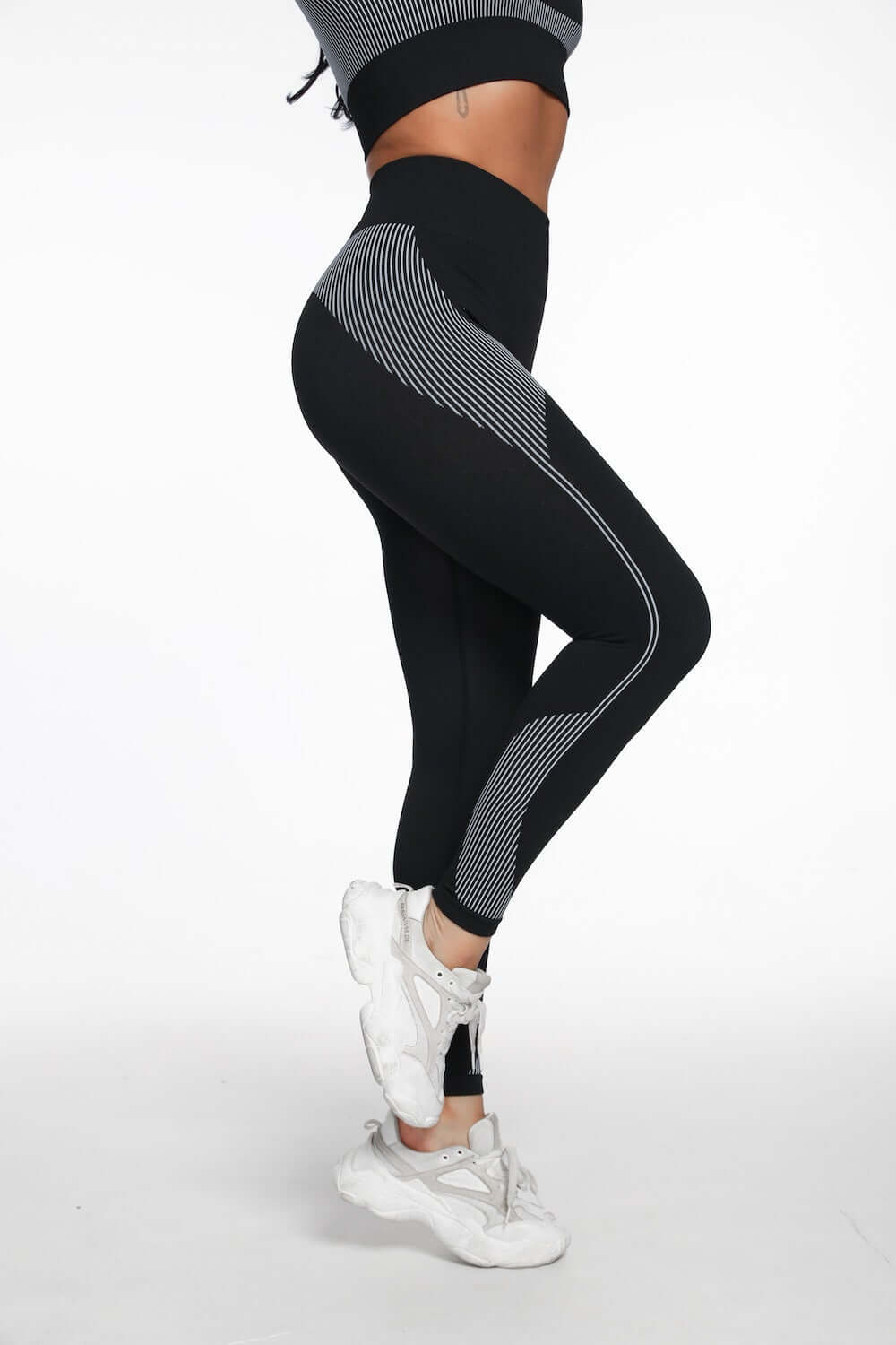 Astoria ENERGY Full Length Legging - Black/White