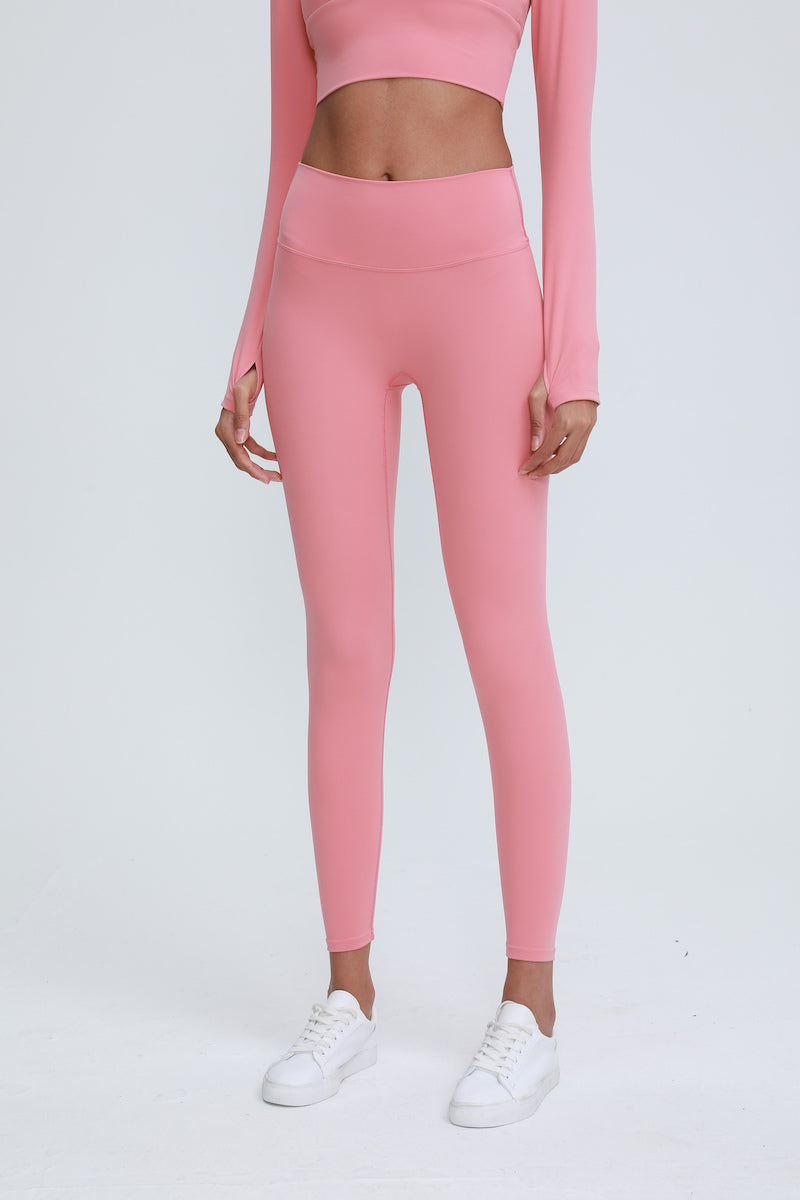 Astoria LUXE Max Support Legging - Taffy Pink