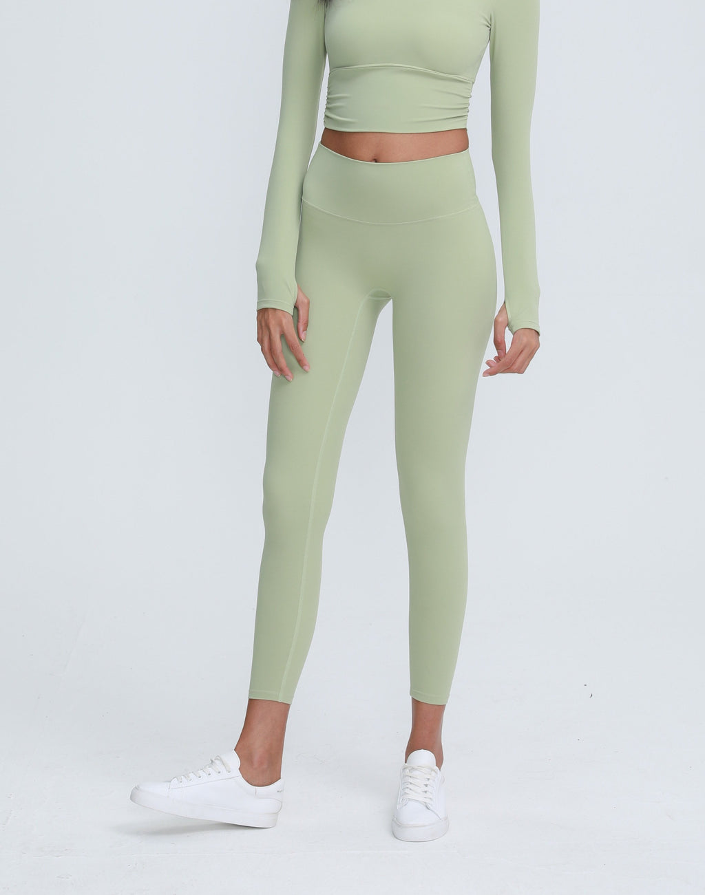 Astoria LUXE Max Support Legging - Pale Green