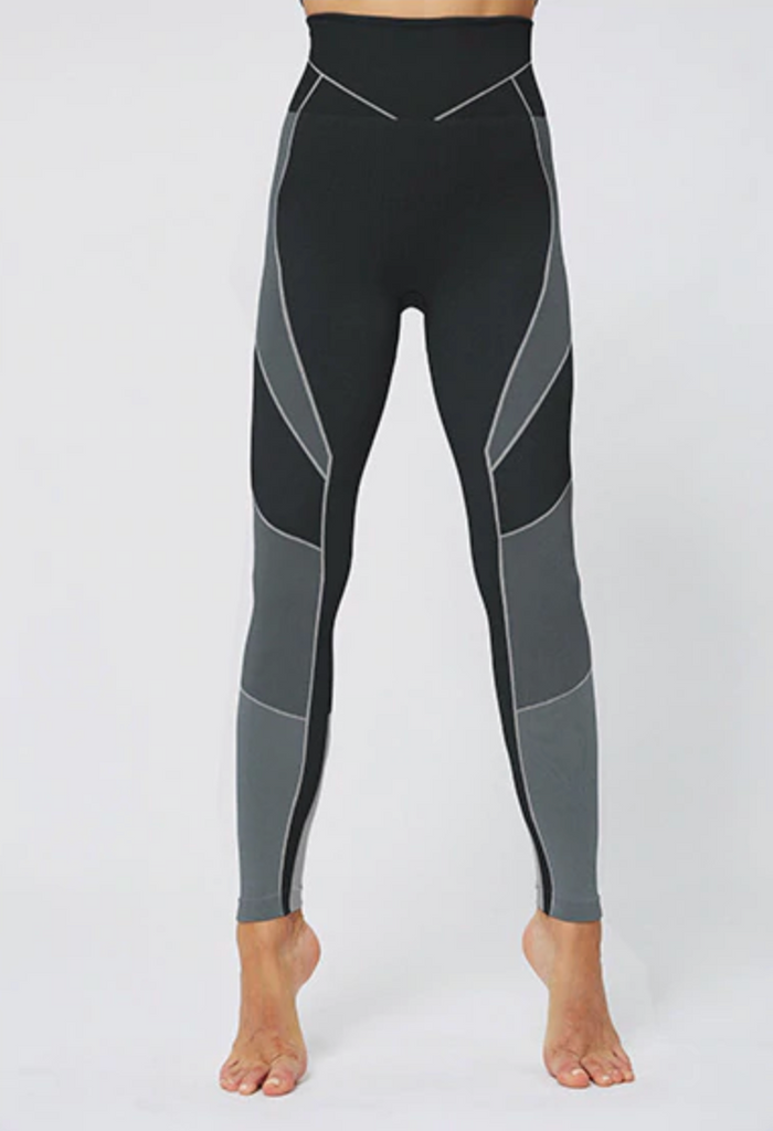 Astoria POWER Legging - Black/Grey