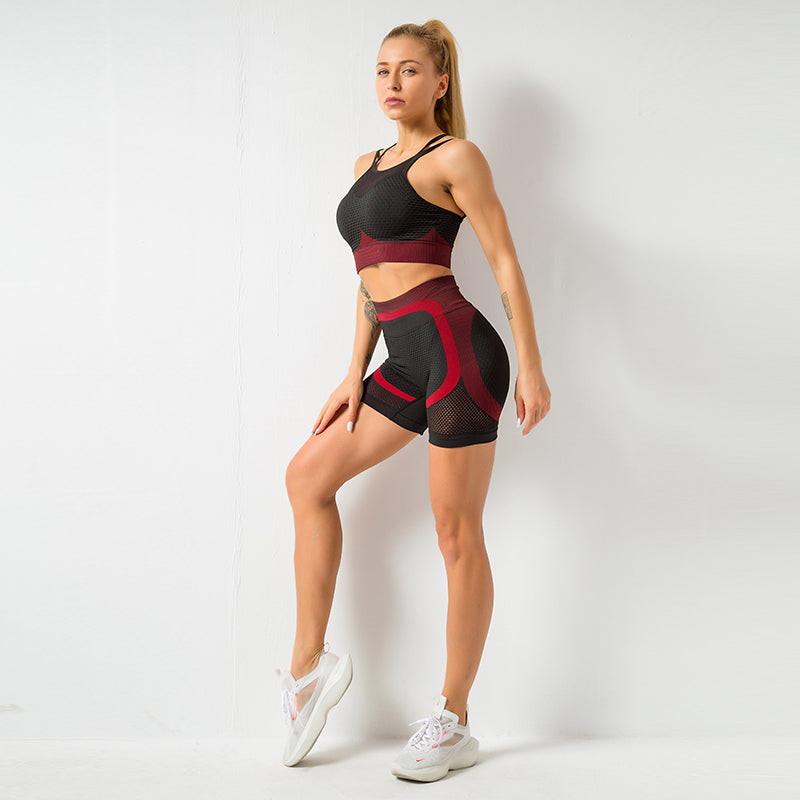 Astoria MOMENTUM Mesh Short - Ruby/Black