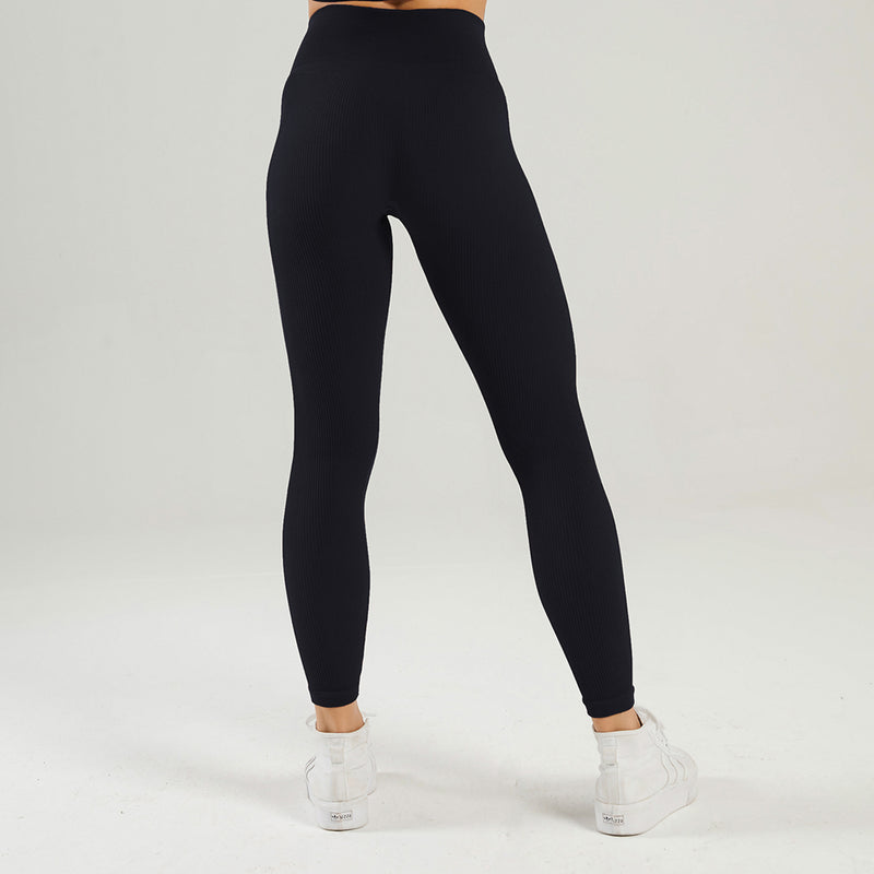Astoria LUXE Ribbed Series Legging - Black