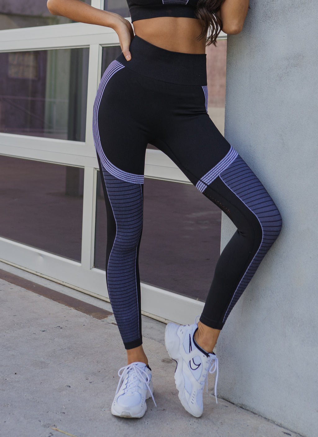 Astoria SWIFT Full Length Legging - Black/Grey