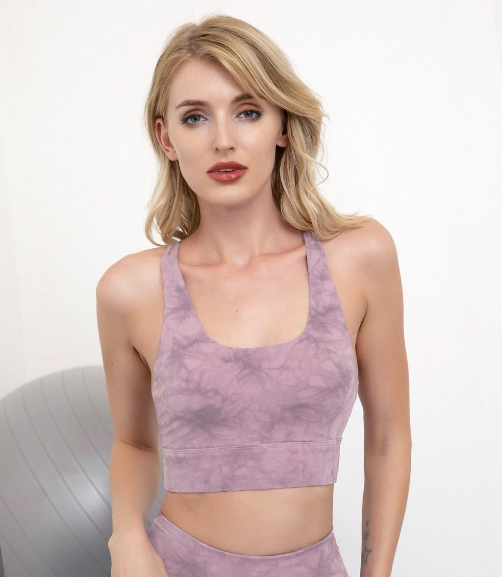 Astoria LUXE CLOUD Sports Crop - Purple