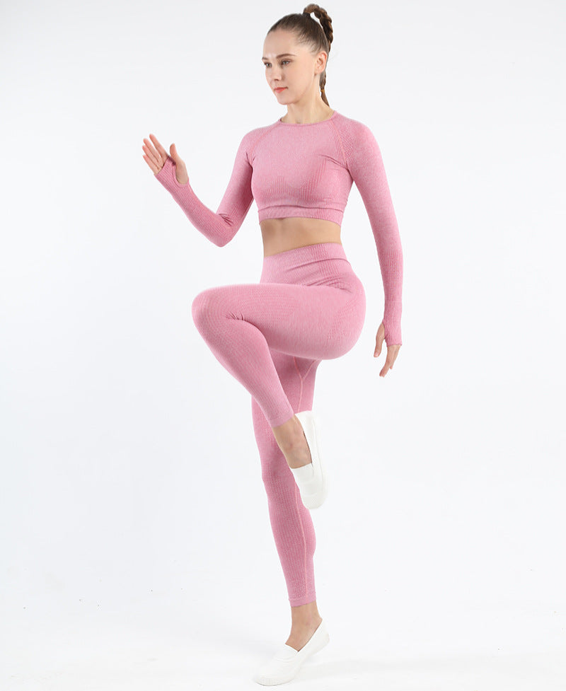 Astoria VELOCITY Sleeved Crop - Candy Pink