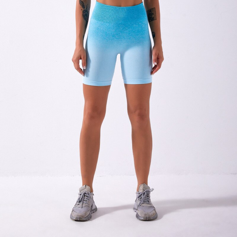 Astoria Seamless Ombre 2.0 Short - Capri Blue