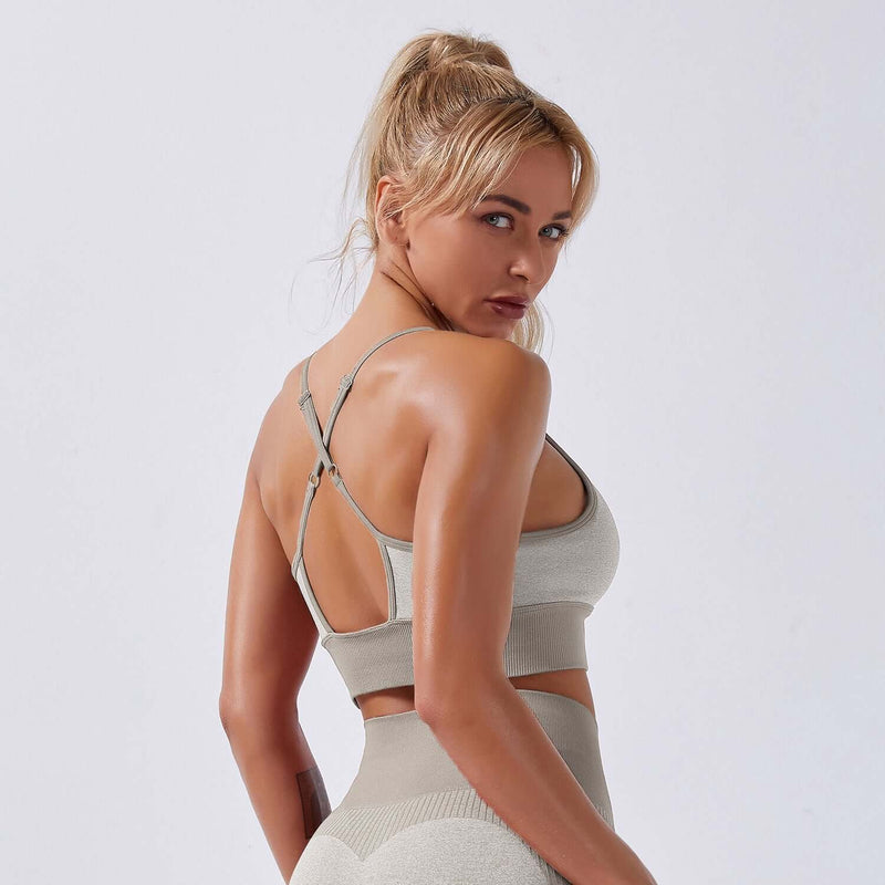 Astoria APEX Sports Bra - Khaki