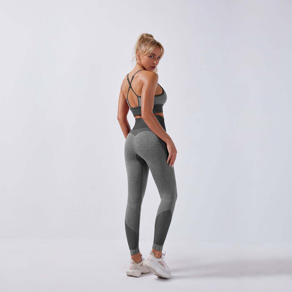 Astoria APEX Legging - Grey/Black