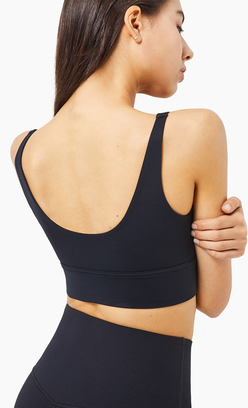 Astoria LIVE LUXE Sports Crop - Black