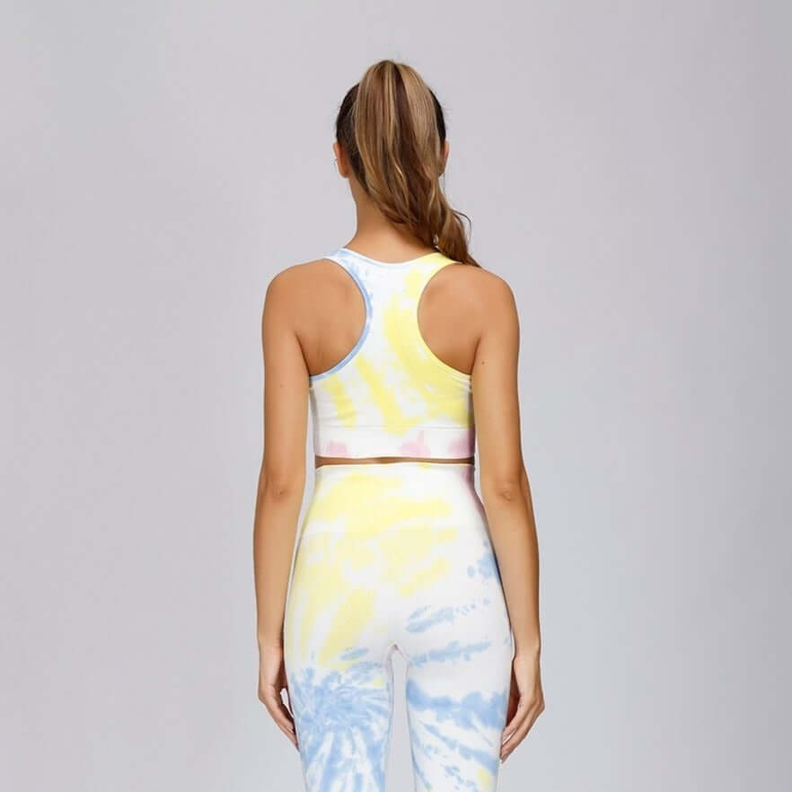 Astoria DREAM Racerback Sports Crop - Pastel Punch
