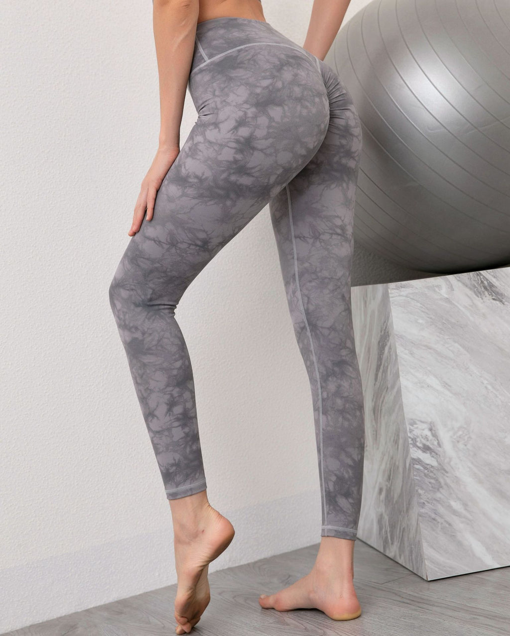 Astoria LUXE CLOUD Scrunch Legging - Light Grey