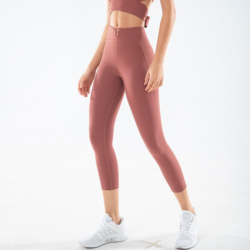 Astoria LUXE CHARGE Legging - Brick Red