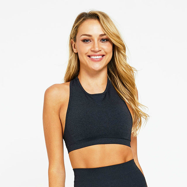 Astoria VELOCITY Sports Crop - Black