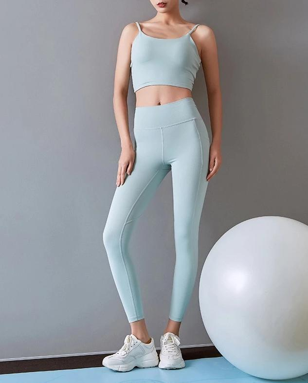 Astoria LUXE Max Support Legging - Soft Mint