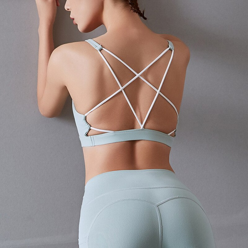 Astoria LUXE Open-Back Max Support Sports Bra - Soft Mint
