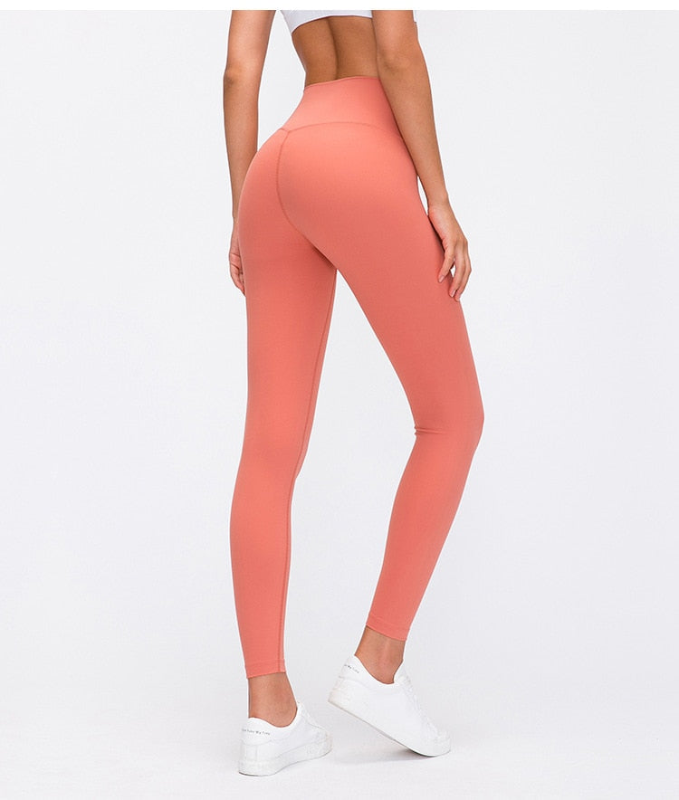 Astoria LUXE Max Support Legging - Bright Salmon